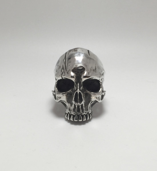 aphotic Distressed Skull ring 03