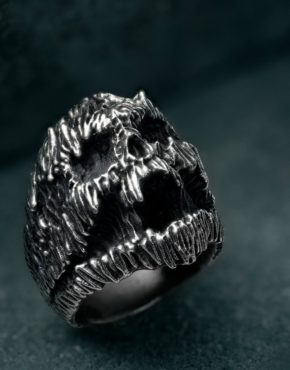 stanislav krawczyk stan darkart pain ring sterling silver collaboration intenebris by js