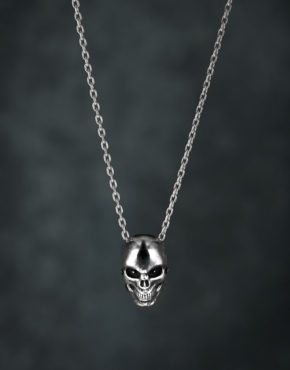 Intenebris Evil Eye Skull Necklace Pendant