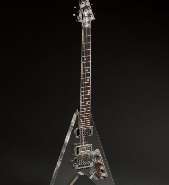 INTENEBRIS LUCY CUSTOM FLYING V GUITAR
