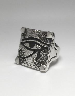 Eye Of Horus Ring - Veined 2