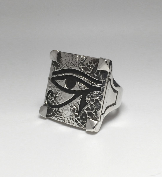 Eye Of Horus Ring - Veined 2