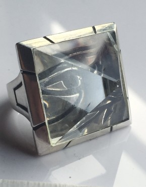 intenebris by js aphotic quartz eye of horus pyramid ring