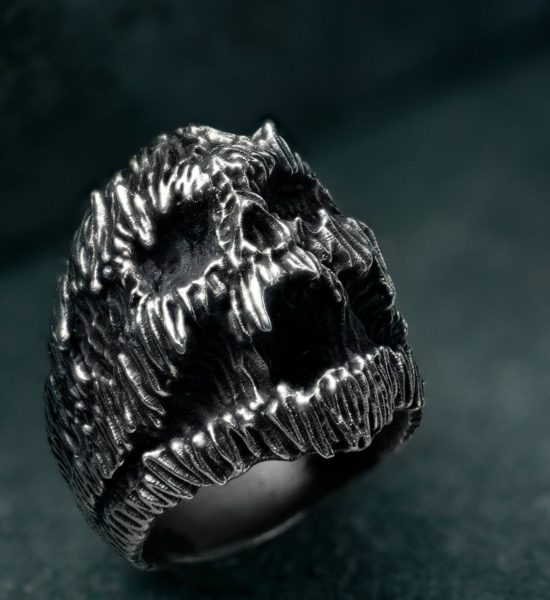 stanislav krawczyk stan darkart pain ring sterling silver collaboration intenebris by js