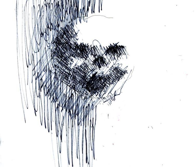 "Intenebris X Stanislav: ""PAIN"" - Original Art 1 of 3"