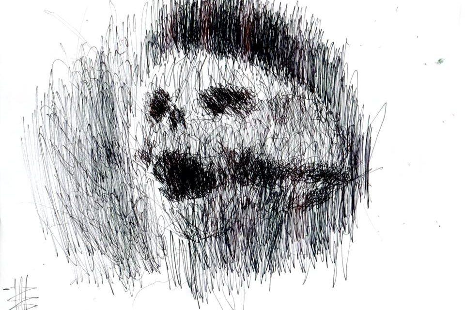 "Intenebris X Stanislav: ""PAIN"" - Original Art 2 of 3"