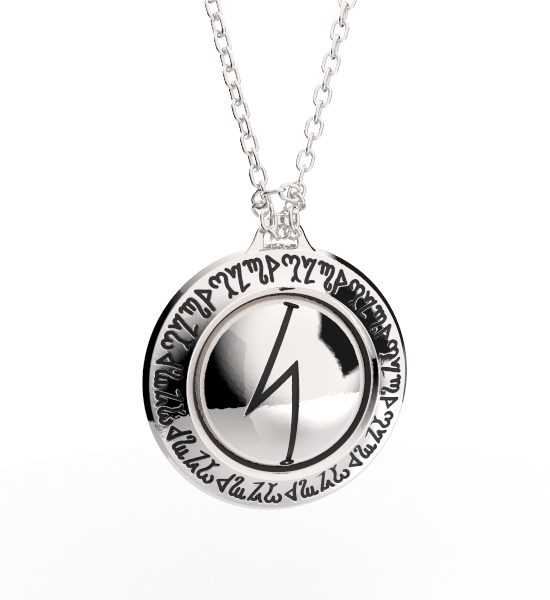 DAMIEN ECHOLS INTENEBRIS COLLABORATION LOVE PENDANT NECKLACE JEWELRY