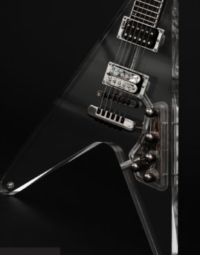 INTENEBRIS LUCY CUSTOM FLYING V GUITAR - BODY